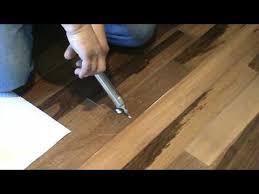 Squeaky Wood Floor Screws by How To Repair A Popping Floor Glue Down Or Floating Part 1 Youtube