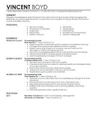 Resume Highlights Examples Career Sample