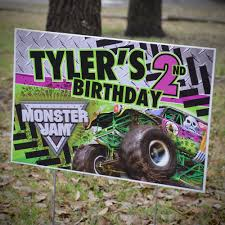 Monster Jam Grave Digger Monster Truck Party Personalized Party Yard ... Pit Party Monster Jam Houston 2 12 2017 Youtube Truck Favor Tags Forever Fab Boutique Birthday Check Out This Cool Monster Truck Boy Birthday Party Favor Bags Invitations Marvelous Inside Awesome 50 Unique Club Pack Of 96 Mudslinger Plastic Loot Bags Invitation Etsy Monster Truck Food Labels Its Fun 4 Me 5th Sign Krown