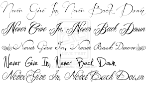 Tattoo Fonts For Men And Women
