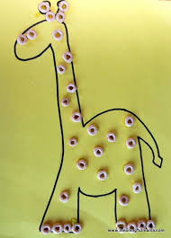 Giraffe Crafts For Preschoolers