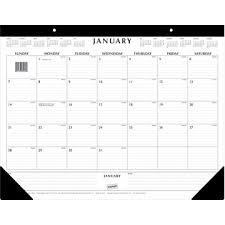 Decorative Desk Blotter Calendars by Organization Quest Home Office