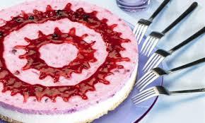 kokos rote grütze torte
