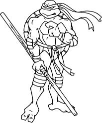 Coloriage à Imprimer Tortue Ninja Download Coloriage En Ligne Gratuit