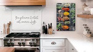 glasbilder für die küche wall de