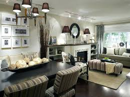 Living Room And Dining Design Of Goodly