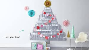 Martha Stewart Pre Lit Christmas Trees by Video Diy Fringe Christmas Tree Martha Stewart