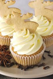 spekulatius cupcakes mit weißer schoko buttercreme
