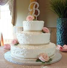 Cakes For All Occasions Elegant Classic Wedding Cake With Fresh Roses