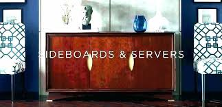 Black Sideboard Dining Room Buffets Servers Antique White Buffet Server Furniture Dinning Sideboards Brown Serv