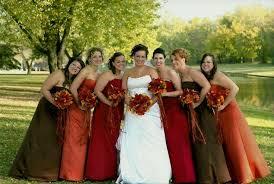 Fall Bridesmaid Dresses Naf Color