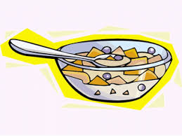 Cereal Clipart Breakfast Time