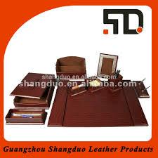 Leather Desk Blotter Australia by Executive Office Stationery Set Buy Stationery Set Office