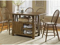 Farmhouse Center Island Pub Table By Liberty Furniture At Furniture And  ApplianceMart