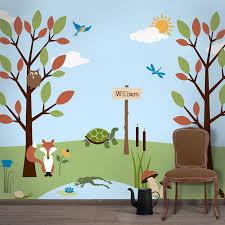 Amazing Kids Wall Decor Simple Design
