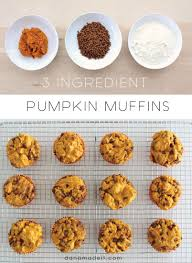 Cake Mix And Pumpkin Muffins by 3 Ingredient Pumpkin Muffins U2013 Made Everyday