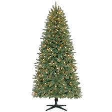 C10 7ft Pre Lit Hardwicke Spruce Christmas Tree