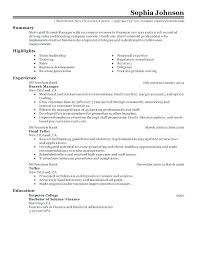 Resume Examples For Business Banking And Executive Sample Branch Manager Account