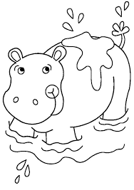 Unique Hippo Coloring Pages 17 About Remodel For Adults With