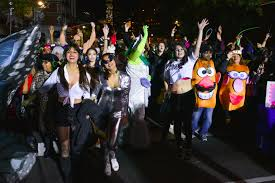 Greenwich Village Halloween Parade Street Closures by New York Halloween Parade Takes Place After Terror Attack