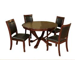 Furniture Of America Rakula 5-Piece Round Pedestal Dining Table Set, Brown  Cherry Finish Table Round Kitchen Sets For 6 Solid Wood Small And Chairs The Nook A Casual Kitchen Ding Solution From Kincaid Fniture 1990s Mission Stickley Oak Ding Nottingham Rustic Black Room Set Enchanting Argos Charming Podge 5 Pc Kngs Brand Metal Dnng Blank Slate Coffee Buy Online At Overstock Our Best Antique Classic Single Pedestal By Intercon Wayside