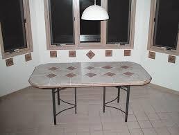 our kitchen ceramic mosaic tile table
