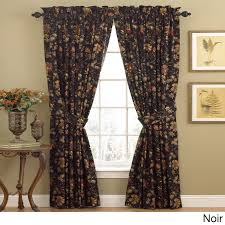 J Queen Valdosta Curtains by Jacobean Floral Curtains Window Treatments Compare Prices At