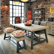 Modest Ideas Industrial Dining Room Table Tables Reclaimed Wood Extending And