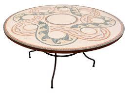 table ronde mosaique fer forge salon de jardin marocain en fer forge 10 salon jardin mosaique
