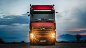 Mercedes-Benz Actros Truck Gains Semi-autonomous Driver Assists ...