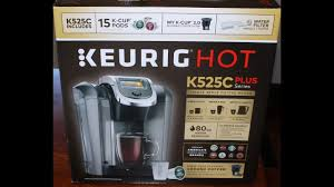 Costco Keurig Hot K525C Plus Series Unboxing Setup First Cup Of Coffee