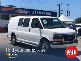 Used 2015 GMC Savana Heavy Duty Cargo Van. Low Kms For Sale In ...