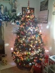 6ft Pre Lit Christmas Tree Bq by Christmas Trees Kmart Christmas Lights Decoration