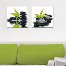 Deco Glass Wall Decor Art On Glass Zen Impression OJCommerce