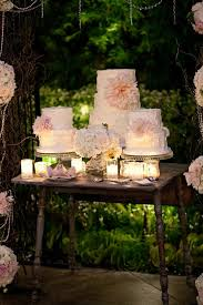 Image Detail For Garden Wedding Cake Table