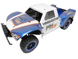 100 4wd Truck 15 Scale X2 Deluxe Roller 4WD Short Course White Blue