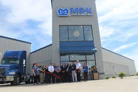 Clinton County Chamber Of Commerce Ribbon Cutting - M&K Truck Centers