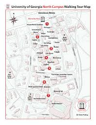 Eits Help Desk Hours by University Of Georgia North Campuswalking Tour Map