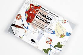 Turkish Designs Postcard Colouring Book