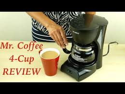 Mr Coffee 4 Cup Maker Review