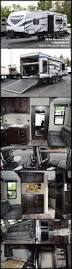 2016 5th Wheel Toy Hauler Floor Plans by This 2016 Carbon 31 Travel Trailer Toy Hauler By Keystone Rv Is