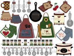 Country Kitchen Clipart Ideas