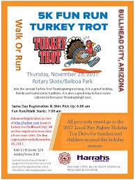 BHC Fire 5k Turkey Trot Sponsored By Harrahs Laughlin
