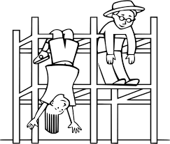 Image Royalty Free Collection Of Drawings High Quality Svg Stock Jungle Gym Clipart Black And White
