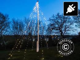 Flagpole Christmas Tree Uk by Flagpole Christmas Led Fairy Lighting David 10x7 M Warm White