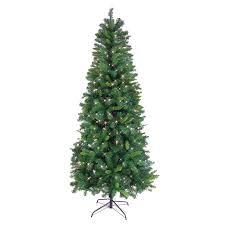 75 Pre Lit Slim Noble Pine Christmas Tree