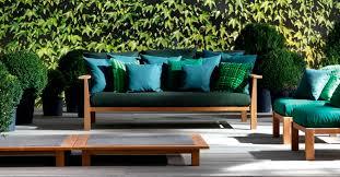navone canape canapé contemporain de jardin en teck par navone