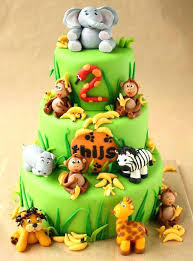 12 Safari Boy Baby Shower Sheet Cakes Photo Jungle Safari Baby