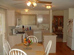 Narrow Kitchen Cabinet Ideas by Rustic Style Small Kitchen Combined With Dining Room And Painting