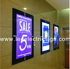 2018 wall mounted aluminum magnetic frames for posters advertising